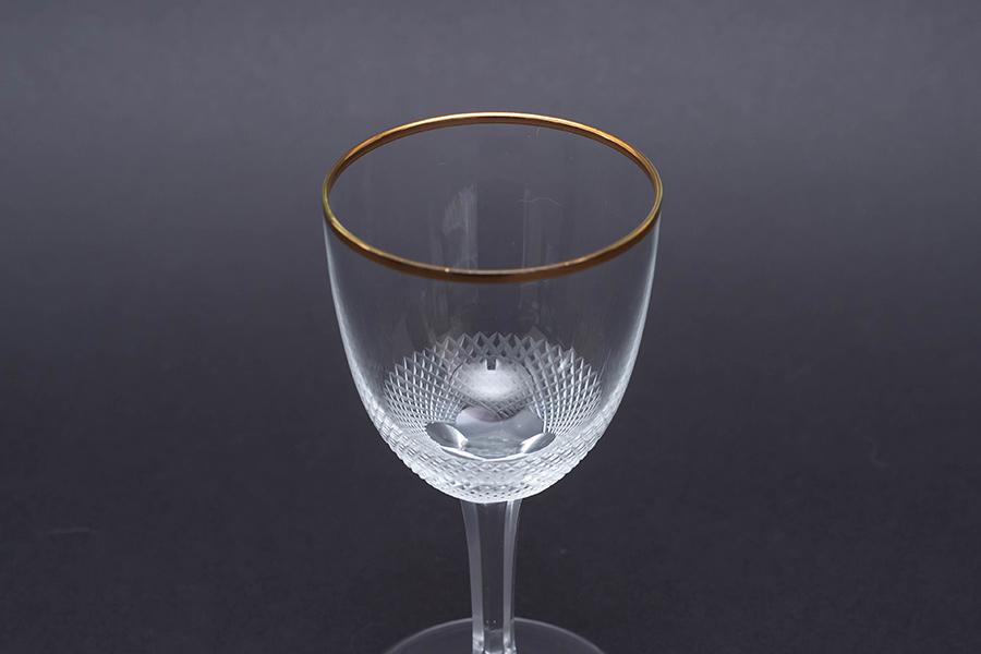 モーゼル ロイヤル(ゴールド) ワイングラス