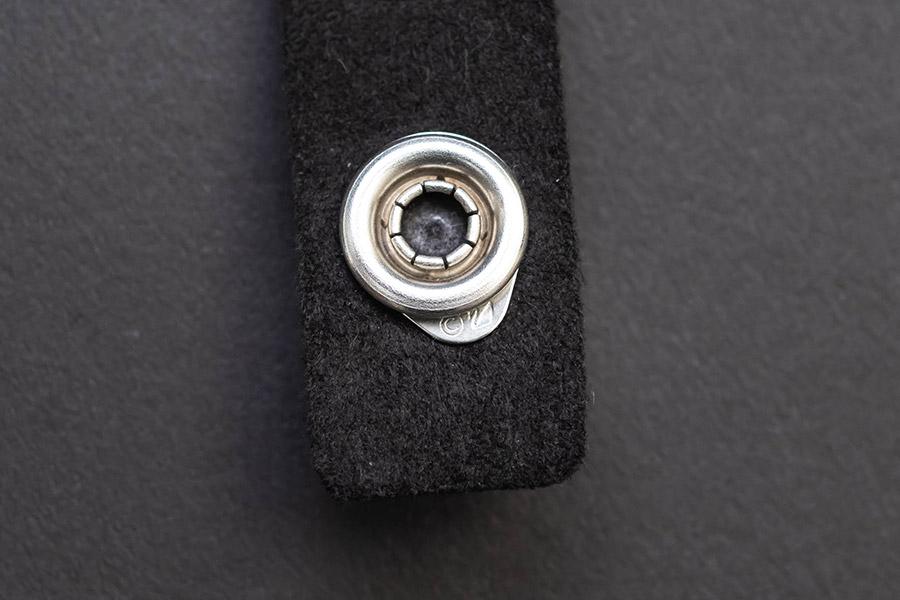 スワロフスキー スレーク 二重巻きブレスレット(ブラック)