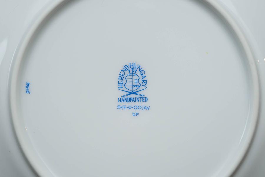 ヘレンド アポニー・グリーン 19cmプレート