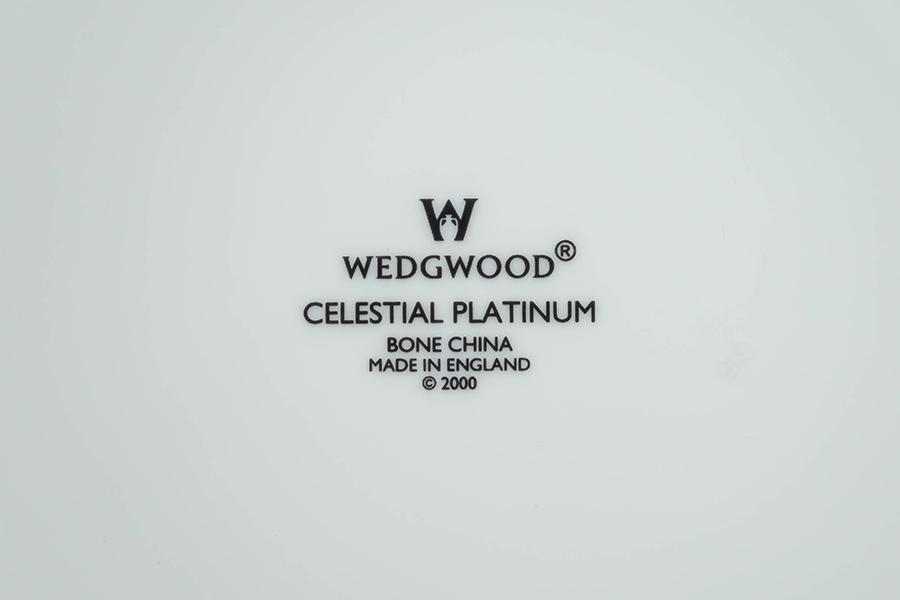 ウェッジウッド セレスティアル・プラチナ(アクセント) 20cmプレート