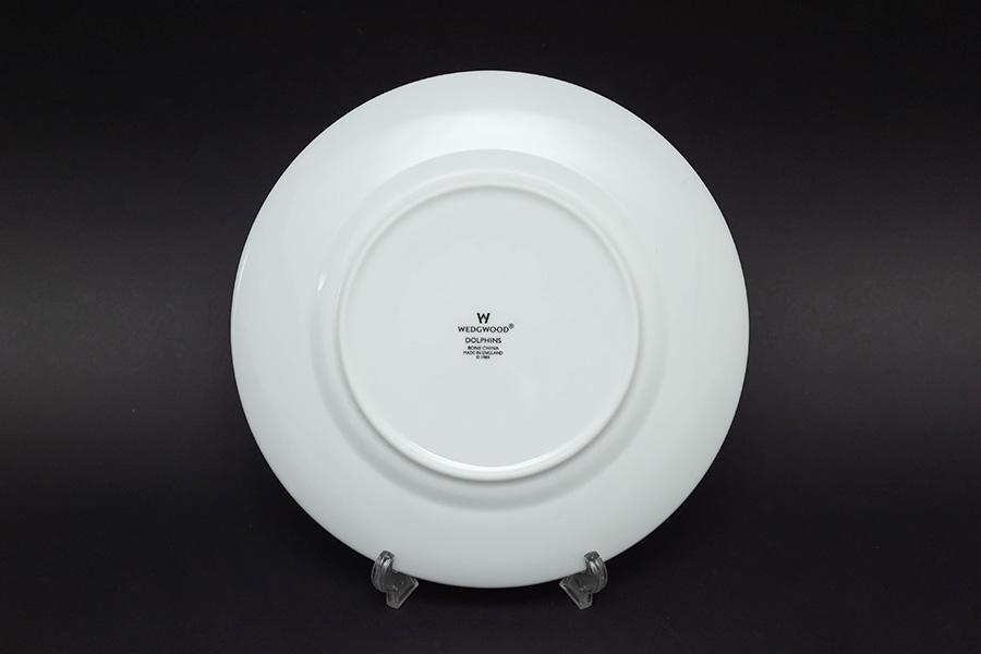ウェッジウッド ドルフィン(ホワイト) 20cmプレート