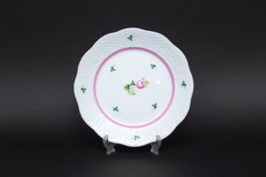 ヘレンド ウィーンの薔薇(ピンク) 19cmプレート
