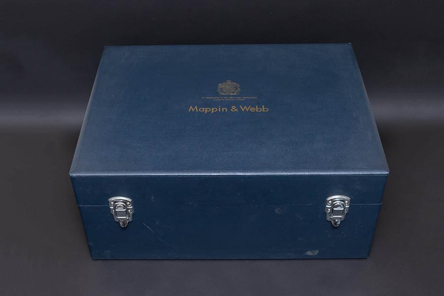 マッピン&ウェッブ ワインクーラー、ワイングラス(6客)ボックスセット