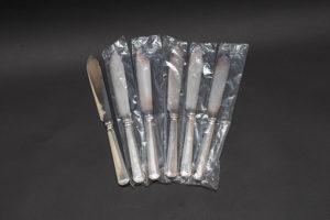 マッピン&ウェッブ アセニアン フィッシュナイフ(マッピンプレート)6本セット
