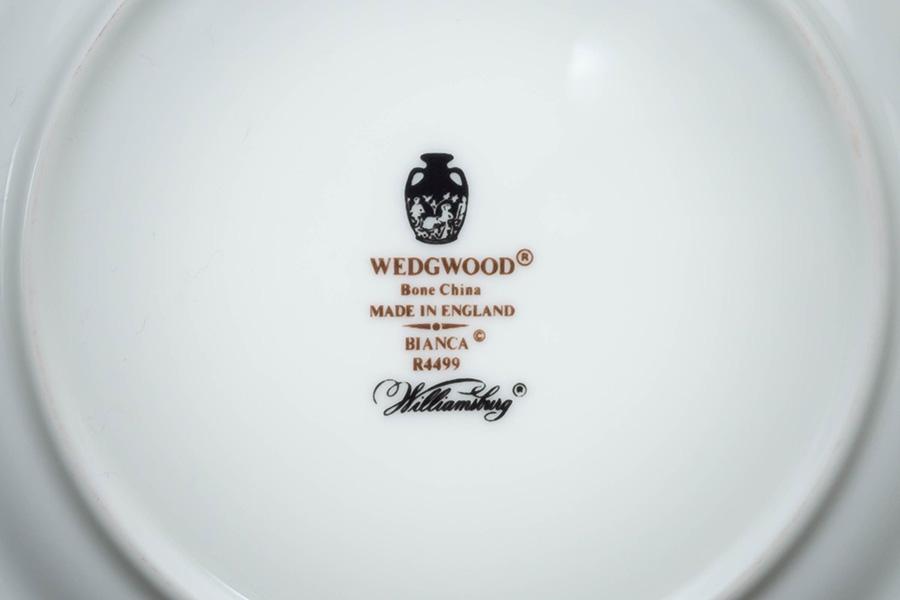 ウェッジウッド ビアンカ 15cmプレート