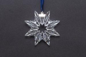 スワロフスキー クリスマスオーナメント スノーフレーク(2003年版)
