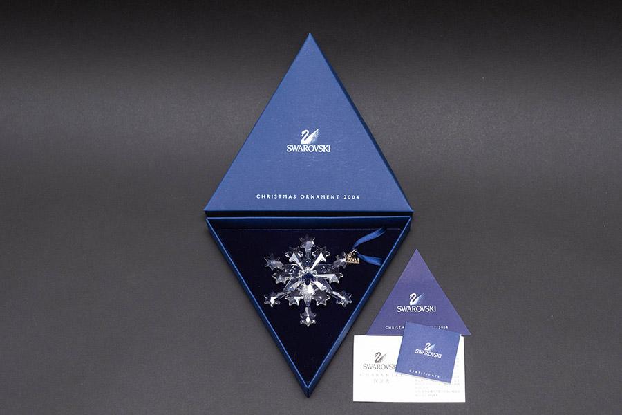 スワロフスキー クリスマスオーナメント スノーフレーク(2004年版)