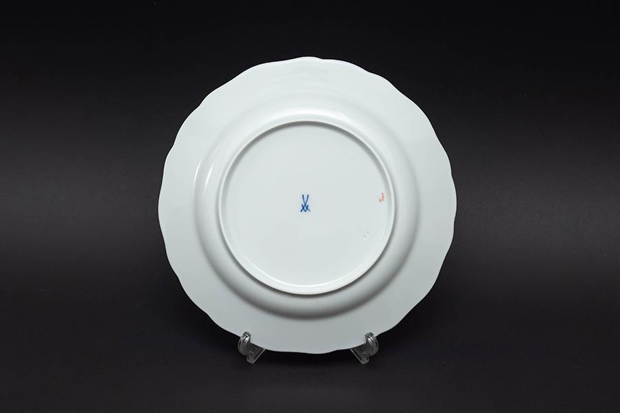 マイセン スキャタードフラワー(散らし小花) 20cmプレート(ピンクローズ)
