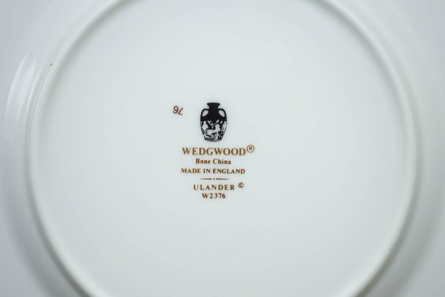 ウェッジウッド ユーランダーパウダーブルー 17cmプレート