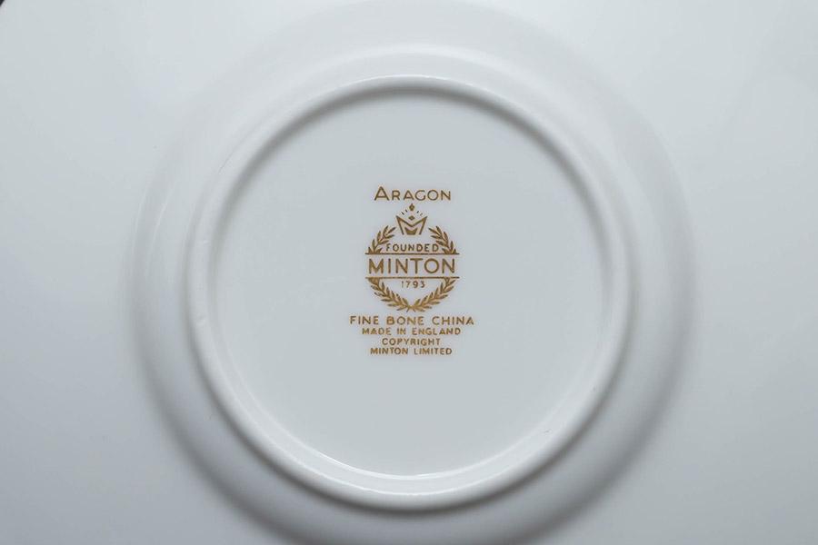 ミントン アラゴン デミタスカップ&ソーサー