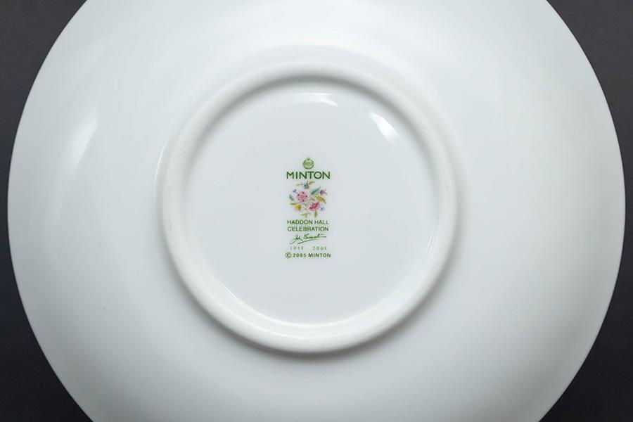 ミントン ハドンホール セレブレーション(グリーン) ティーカップ&ソーサー