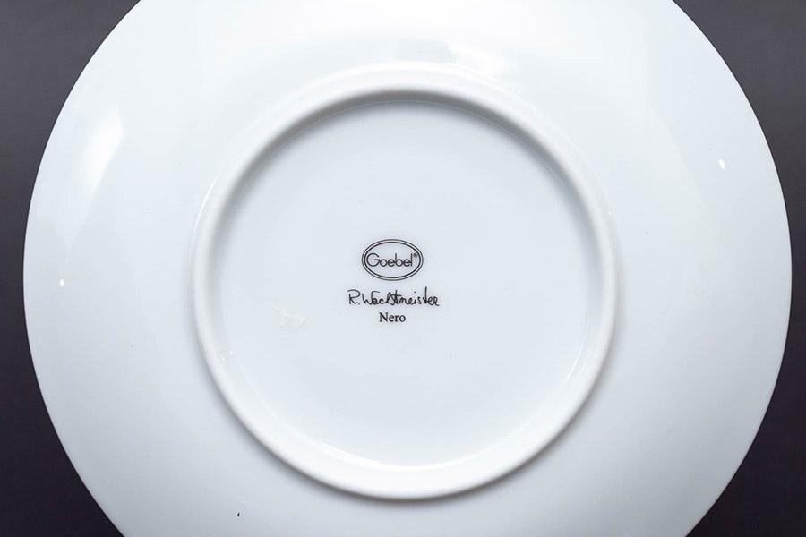 ゲーベル ロジーナキャット 『Nero(ネロ)』デミタスカップ&ソーサー