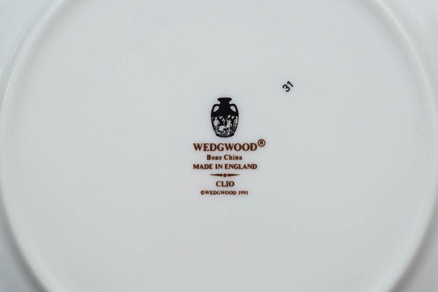 ウェッジウッド クリオ(フルリムボーダー) 20cmプレート