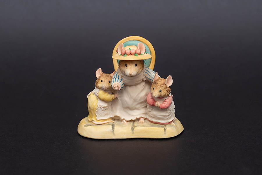 ボーダー・ファイン・アーツ 『ブランブリーヘッジ』 アップルおばさんと子供たち