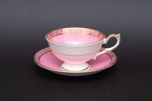 エインズレイ ピンクローズ(ピンク) ティーカップ&ソーサー