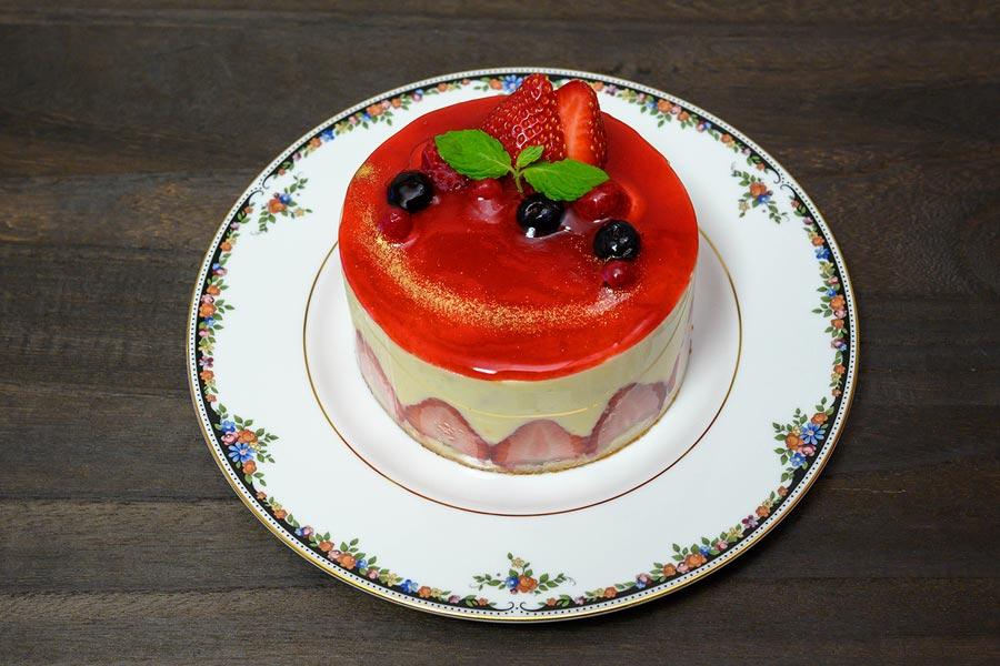 フランスの定番イチゴケーキ、フレジエを作ってみた