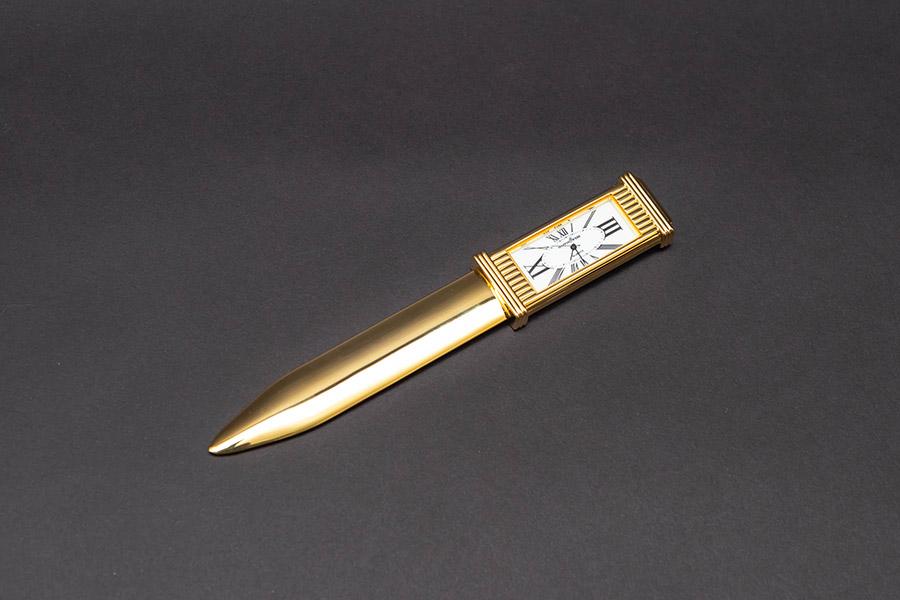 マッピン&ウェッブ 時計付ペーパーナイフ