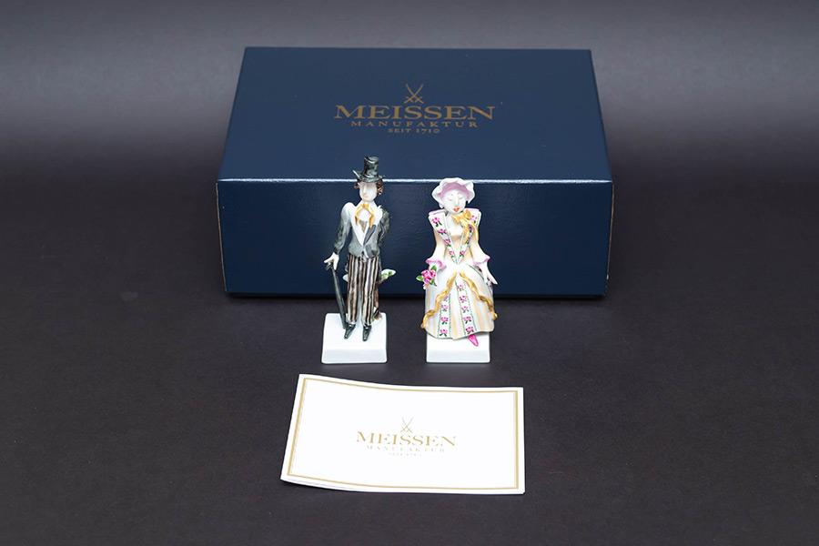 マイセン 様式ペア人形「ヒストリカル」