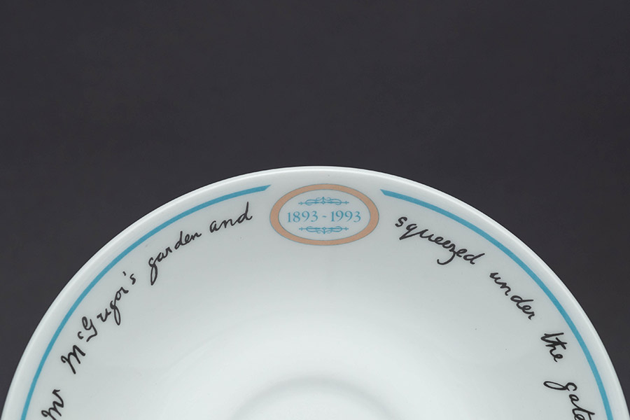 ウェッジウッド ピーターラビット センテナリー(100周年) ティーカップ&ソーサー