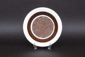 アラビア ファエンツァ(ブラウン) 20cmスーププレート