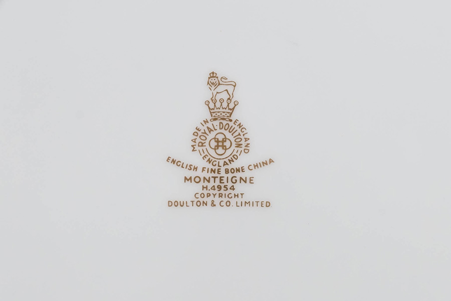 ロイヤル・ドルトン モンテーニュ 20cmプレート