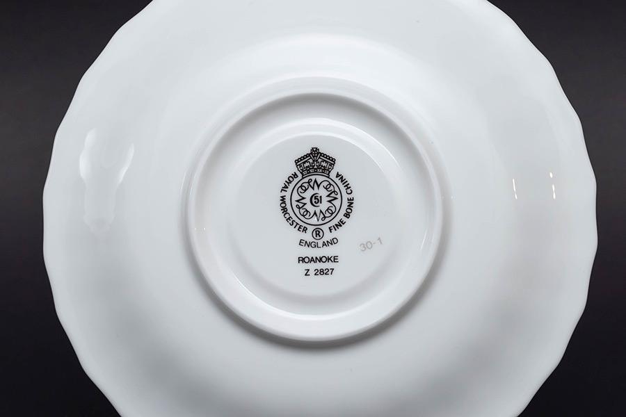 ロイヤル・ウースター ロアノーク ティーカップ&ソーサー