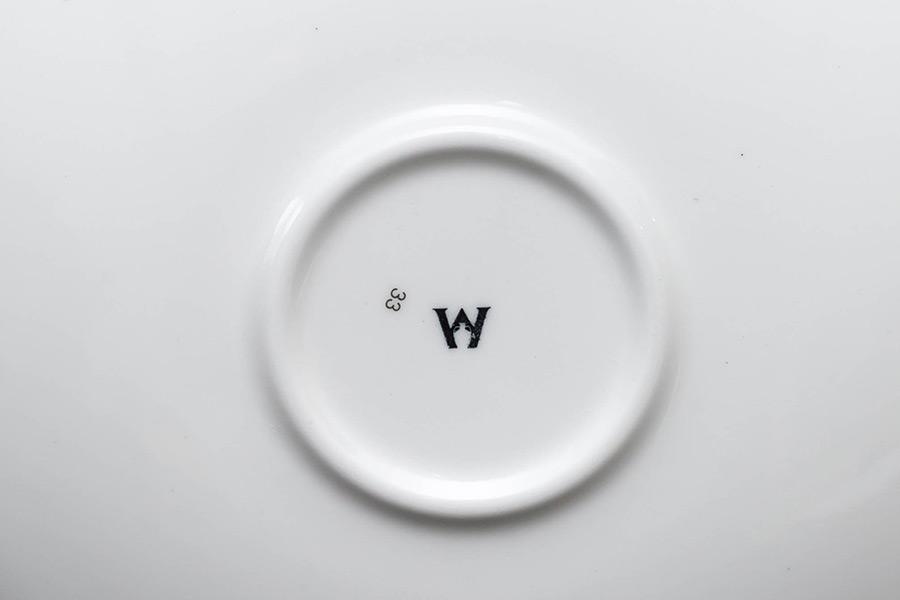 ウェッジウッド ペインテッドガーデン デミタスカップ&ソーサー