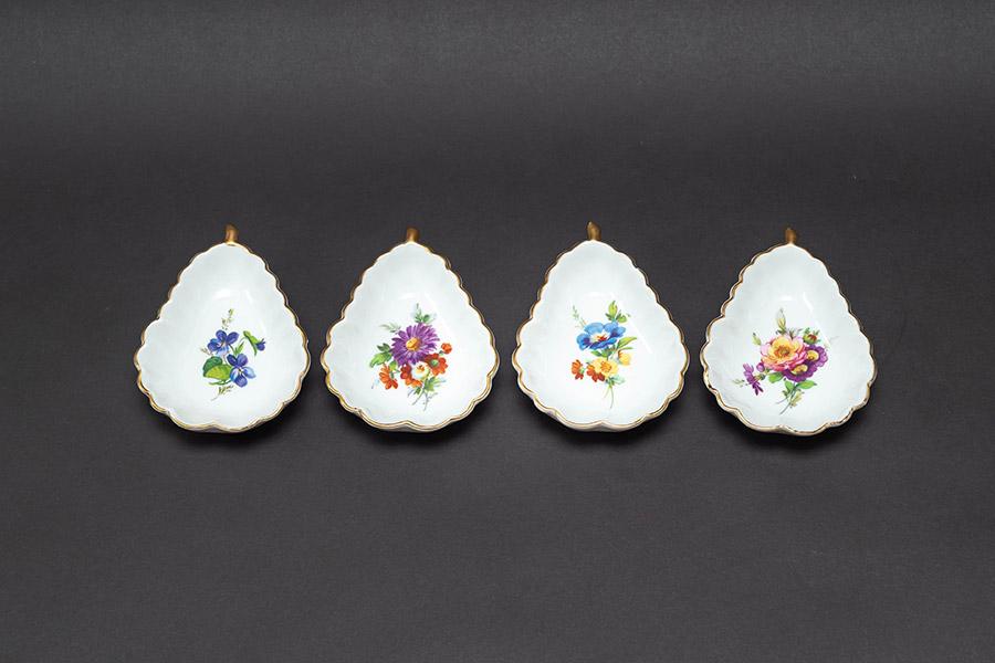 フォルクシュテット 小皿(4枚セット)