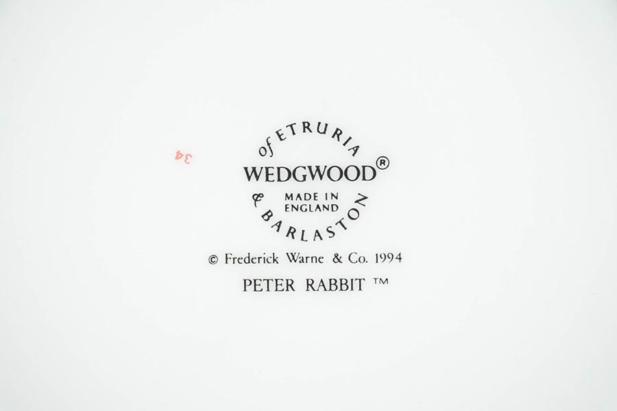 ウェッジウッド ピーターラビット イヤープレート(1994年)