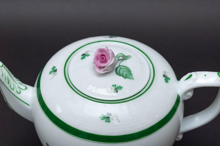 ヘレンド ウィーンの薔薇 ティーポット(800ml)