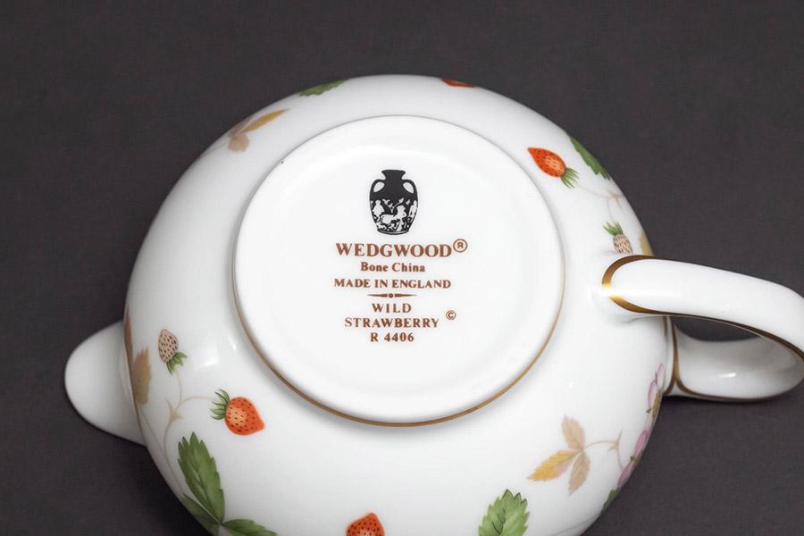 ウェッジウッド ワイルドストロベリー クリーマー(Sサイズ)