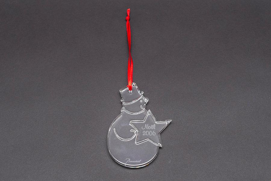 バカラ クリスマスオーナメント(2006年)