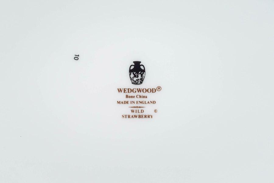 ウェッジウッド ワイルドストロベリー 24cmオーバルトレイ