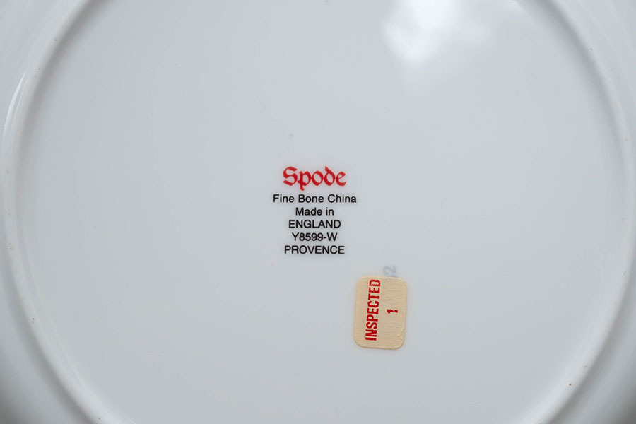 スポード プロヴァンス 20cmプレート