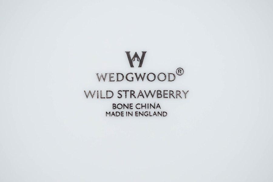 ウェッジウッド ワイルドストロベリー オクタゴナルディッシュ(Lサイズ)