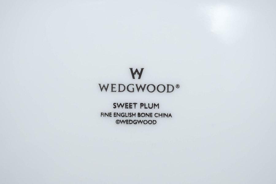 ウェッジウッド スィートプラム 26cmオーバルディッシュ