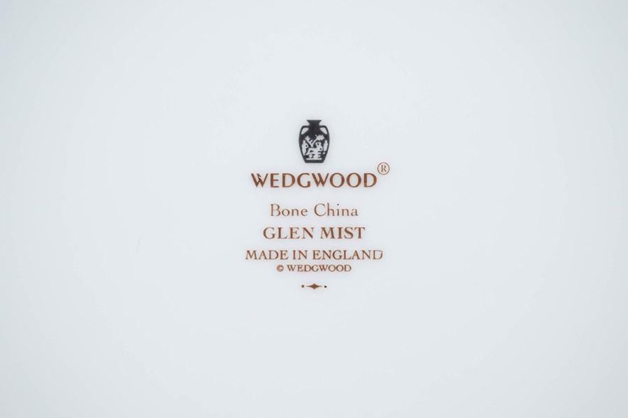 ウェッジウッド グレンミスト 17cmオクタゴナルディッシュ