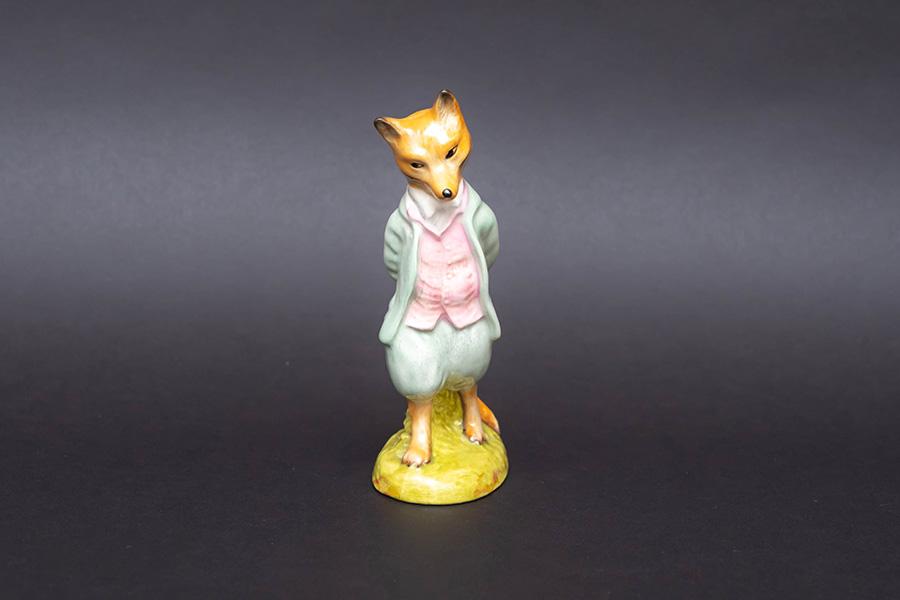 ロイヤル・アルバート ビアトリクス・ポター 『Foxy Whiskered Gentleman(キツネどん)』