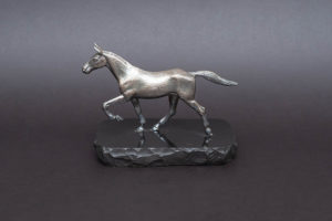 マッピン&ウェッブ メタルフィギュリン ギャロッピングホース(疾走する馬)
