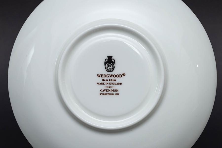 ウェッジウッド キャベンディッシュ ティーカップ&ソーサー(ピオニー)