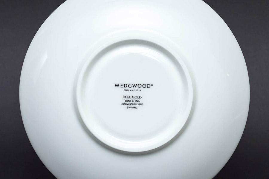 ウェッジウッド ローズゴールド ティーカップ&ソーサー(ピオニー)