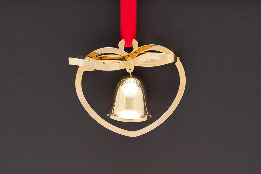 ジョージ・ジェンセン クリスマスオーナメント(1984年)『Christmas Bell』