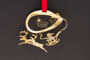 ジョージ・ジェンセン クリスマスオーナメント(1985年)『Jingle Bells』