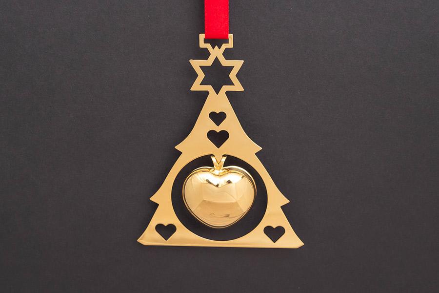 ジョージ・ジェンセン クリスマスオーナメント(1986年)『Chrismas Heart』