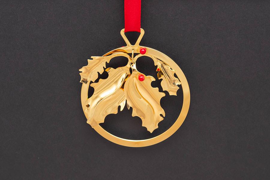 ジョージ・ジェンセン クリスマスオーナメント(1988年)『Holly』