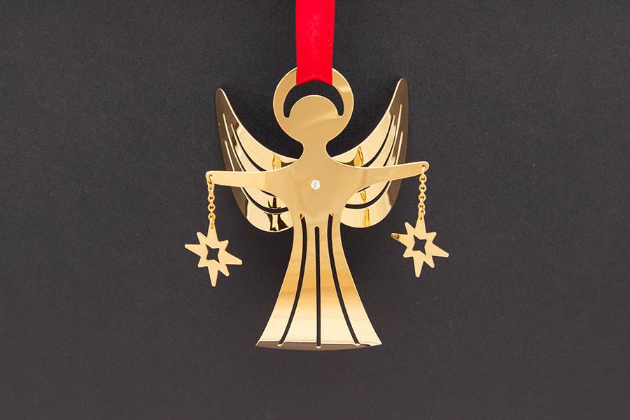 ジョージ・ジェンセン クリスマスオーナメント(1989年)『Angel-bright』