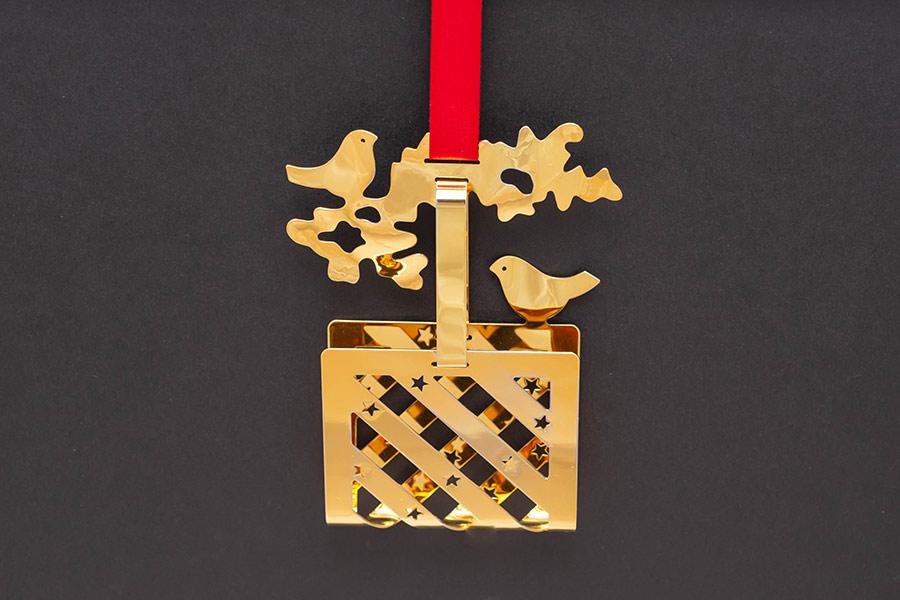 ジョージ・ジェンセン クリスマスオーナメント(1990年)『Christmas Basket』