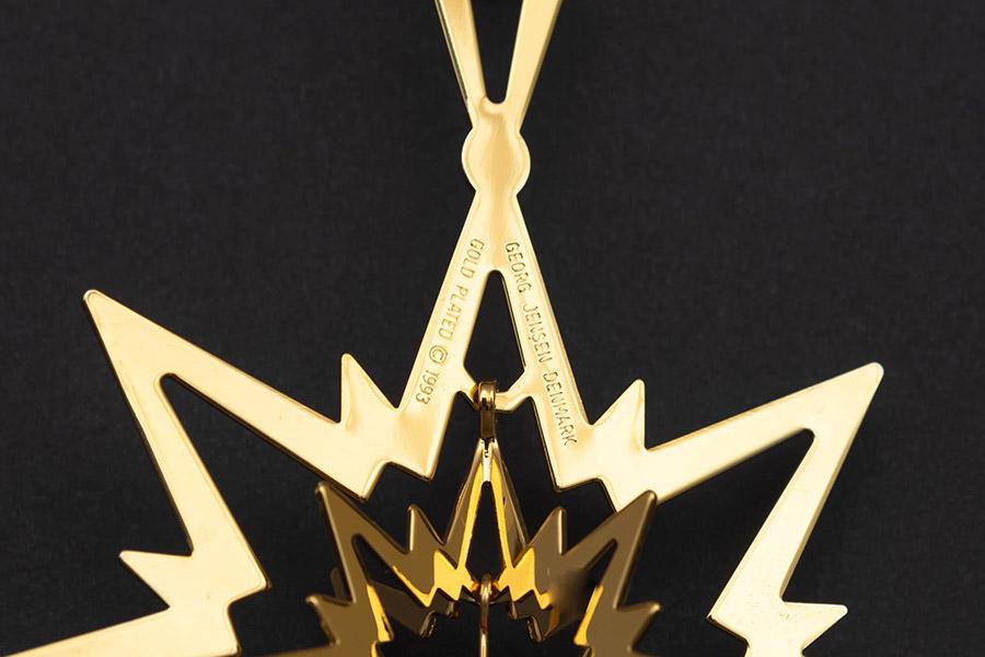 ジョージ・ジェンセン クリスマスオーナメント(1993年)『Christmas Star』