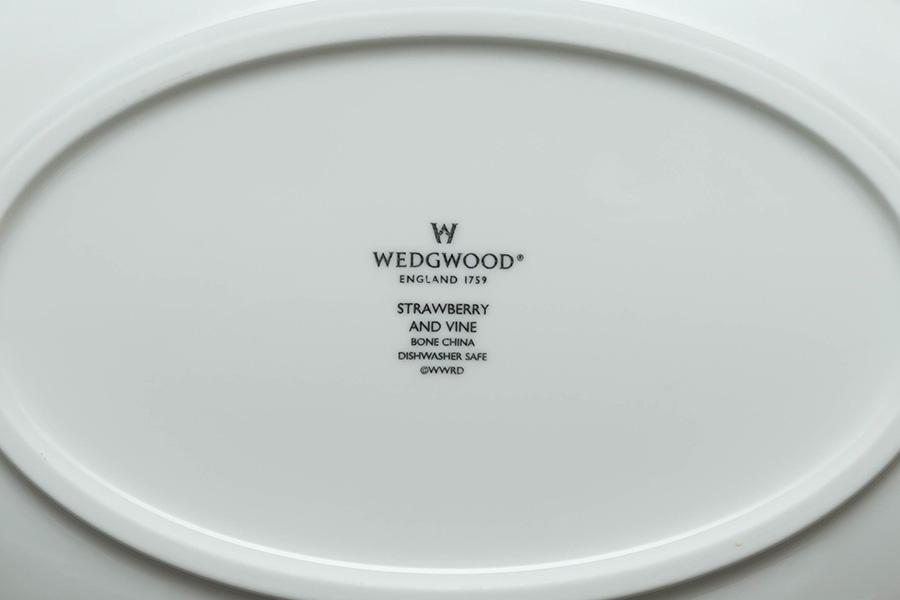 ウェッジウッド ストロベリー&バイン オーバルボウル