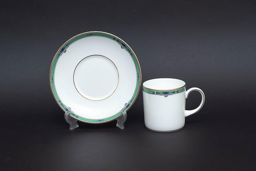 ウェッジウッド ジェイド コーヒーカップ&ソーサー(キャン)